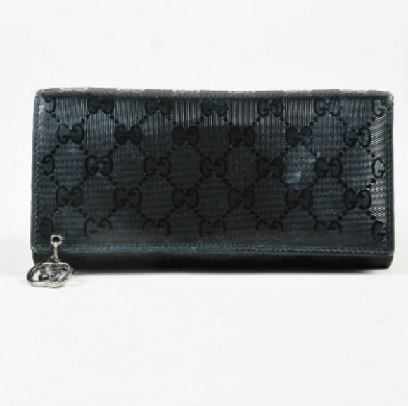 81d1238a837 Gucci Bags | Gg Imprime Patent Leather Wallet | Poshmark